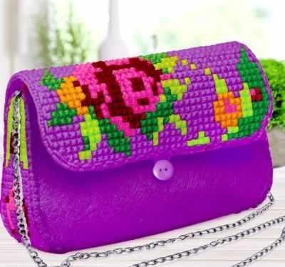 Набор для вышивания Школа талантов 3842660 Вышивка крестиком на сумочке