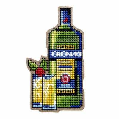 Набор для вышивания Дивная вишня ВВ-133 Чешский ликёр набор для вышивания дивная вишня вв 65 мускари