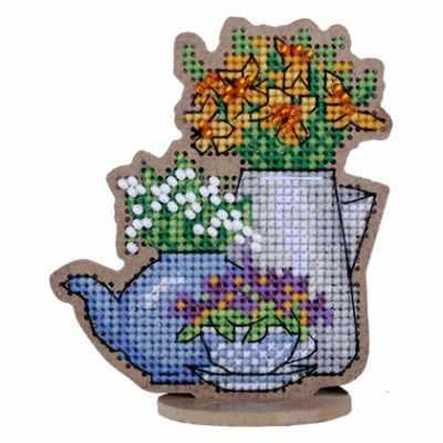 Набор для вышивания Дивная вишня ВВ-67 Первоцветы набор для вышивания дивная вишня вв 65 мускари