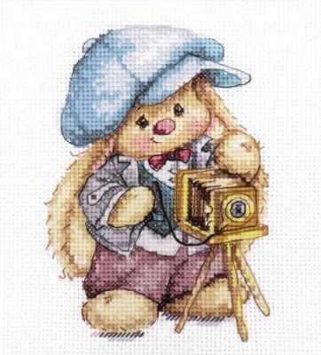 Набор для вышивания Алиса 0-192 Зайка Ми. Фотограф