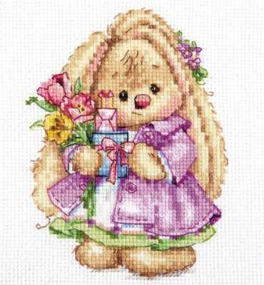 Набор для вышивания Алиса 0-193 Зайка Ми. Весна