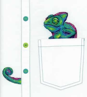 В-253 Любопытный хамелеон