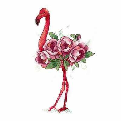 Набор для вышивания МП Студия В-254 Фламинго