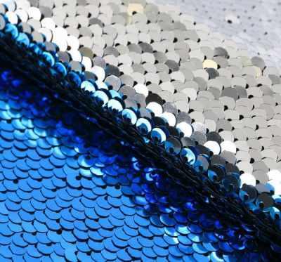 Ткань для скрапбукинга Арт Узор 3891591 Ткань для пэчворка «Голубая-серебряная»