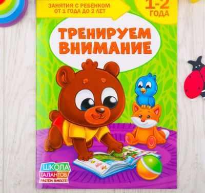 Книга БУКВА-ЛЕНД 2351709 Школа Талантов «Тренируем внимание», второй год обучения