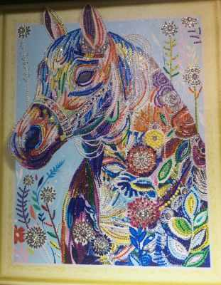 Мозаичная картина Anya Алмазная вышивка HZ19 - мозаика Anya стилус