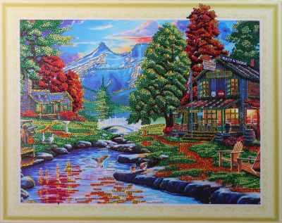 Мозаичная картина Anya Алмазная вышивка HZ073 - мозаика Anya стилус