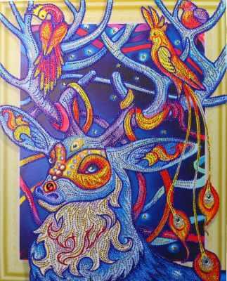Мозаичная картина Anya Алмазная вышивка HZ21 - мозаика Anya стилус