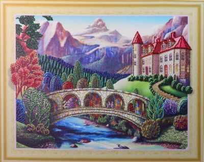 Мозаичная картина Anya Алмазная вышивка HZ037 - мозаика Anya