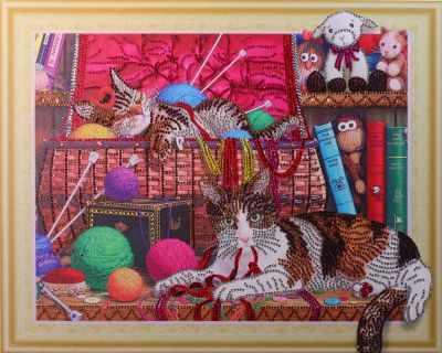 Мозаичная картина Anya Алмазная вышивка HZ053 - мозаика Anya стилус