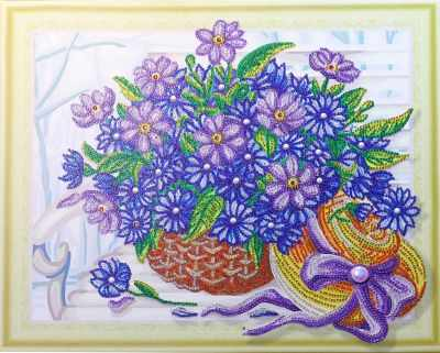 Мозаичная картина Anya Алмазная вышивка HZ10 - мозаика Anya стилус