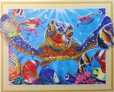 Мозаичная картина Anya Алмазная вышивка HZ047 - мозаика Anya стилус
