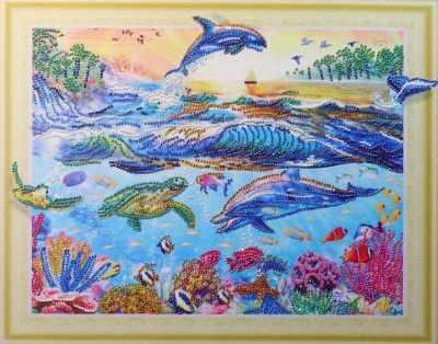 Мозаичная картина Anya Алмазная вышивка HZ085 - мозаика Anya стилус