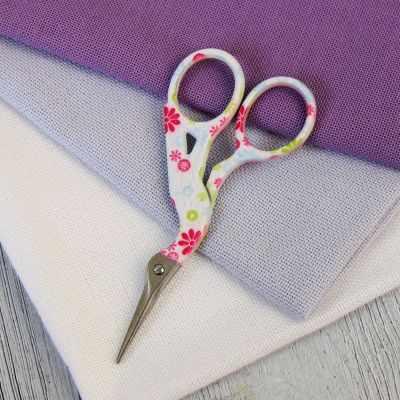 Ножницы - Винтажные ножницы №1, белый