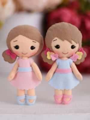 Набор для изготовления игрушки ТУТТИ 05-50 Малышки Полина и Алина цена 2017