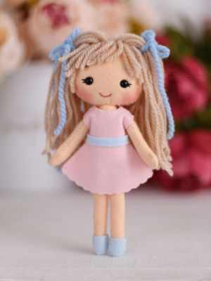 Набор для изготовления игрушки ТУТТИ 05-46 Куколка Аня цена 2017