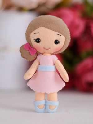 Набор для изготовления игрушки ТУТТИ 05-48 Малышка Полина цена 2017