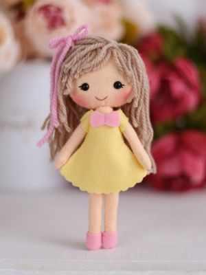 Набор для изготовления игрушки ТУТТИ 05-47 Куколка Алиса цена 2017