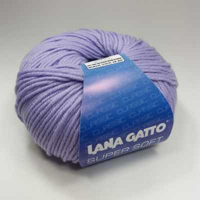 Пряжа Lana Gatto Пряжа Lana Gatto SUPER SOFT Цвет.10180 сиреневый