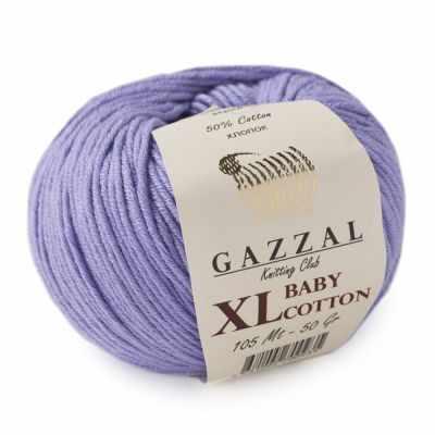 Пряжа GAZZAL Пряжа GAZZAL Baby Cotton XL Цвет.3420XL Лаванда