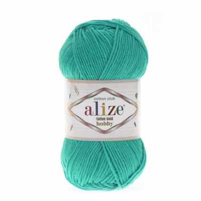 Пряжа Alize Пряжа Alize Cotton Gold Hobby Цвет.610 Нефрит