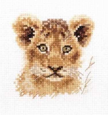 Набор для вышивания Алиса 0-194 Животные в портретах. Львенок