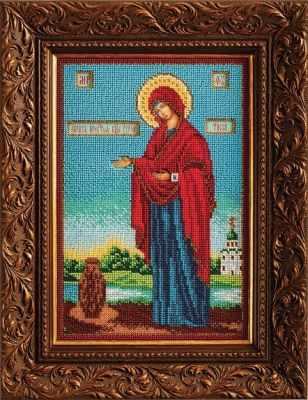 Набор для вышивания иконы Кроше (Радуга бисера) B-196