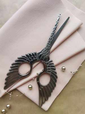 Ножницы - Винтажные ножницы Крылья, металл