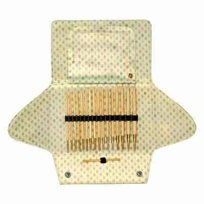 Инструмент для вязания ADDI 550-2/000 Набор бамбуковых спиц со сменными лесками