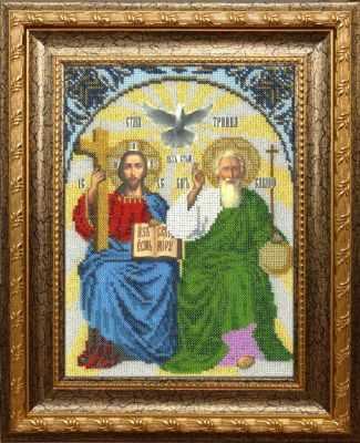 Набор для вышивания иконы Вышиваем бисером L-152 Новозаветная Троица