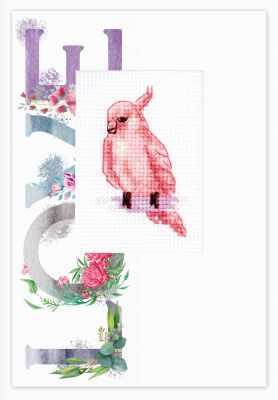 Набор для вышивания Luca-S (S)P-101 Набор для изготовления открытки