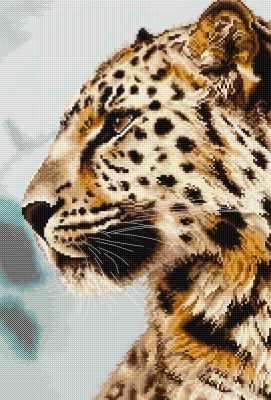 Набор для вышивания Luca-S BU4006 Леопард