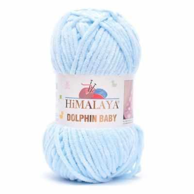 Пряжа Himalaya Пряжа Himalaya Dolphin Baby Цвет.80306 Голубой