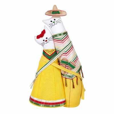 Набор для изготовления игрушки Miadolla C-0228 Коты-обнимашки мексиканцы (Miadolla)