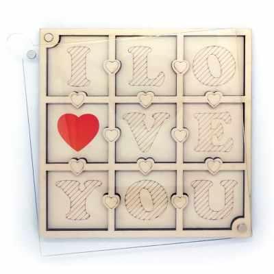 Органайзер Fenix FS-16 Органайзер для бисера с крышкой «I love you»