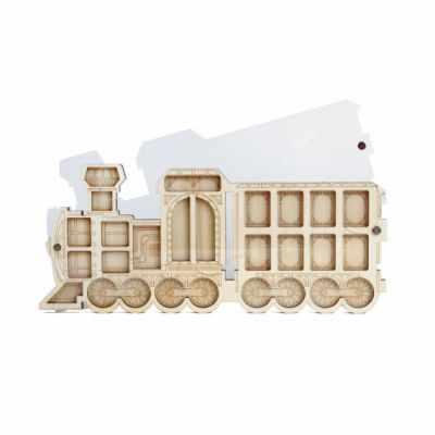 Фото - Органайзер Fenix FS-11 Органайзер для бисера с крышкой «Поезд» органайзер fenix fs 20 органайзер для бисера с крышкой баночка солений