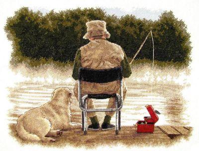 35136 DMS Приятели на рыбалке