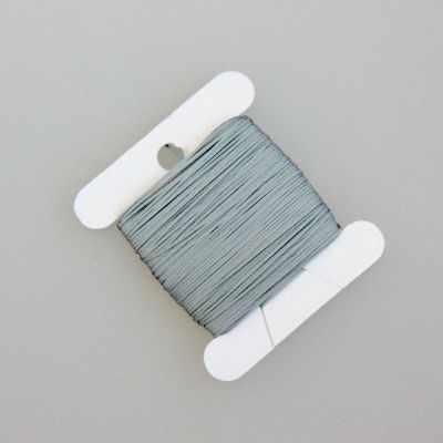 Нити для рукоделия - Нитки светоотражающие, серый 30 м