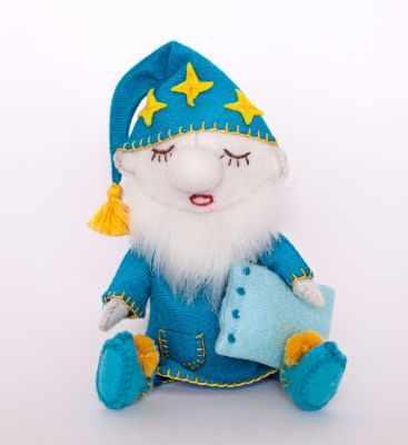 Набор для изготовления игрушки Перловка ПФГ-1557 Гном засоня - игрушка (Перловка)