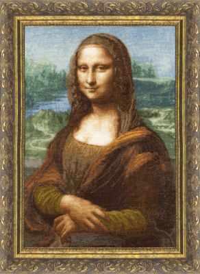Набор для вышивания Золотое Руно МК-023 Мона Лиза