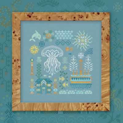 Набор для вышивания OwlForest 0028-АМ-Н3 Атлантида.Медуза