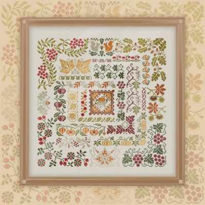 Набор для вышивания OwlForest 0038-ЩО-Н3 Щедрая осень