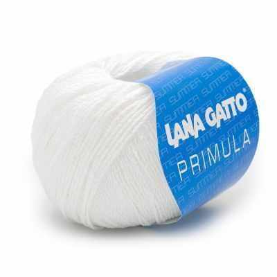 Пряжа Lana Gatto Пряжа Lana Gatto PRIMULA Цвет.6536 Белый