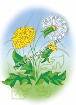 Фото - Набор для вышивания Искусница 8191 Набор Одуванчик комбинезон lassie 720743 8351 8191 размер 104 8191