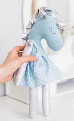 Набор для изготовления игрушки Арт Узор 3640007 Мягкая игрушка «Единорожка Вандер», набор для шитья