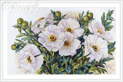 К-118 Белые цветы