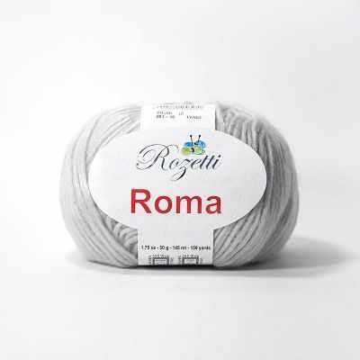 Пряжа Rozetti Roma Цвет.201-10 Св.Серый