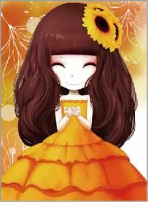 Набор для вышивания Цветной Алмазная вышивка x193 «Девочка с подсолнухом»