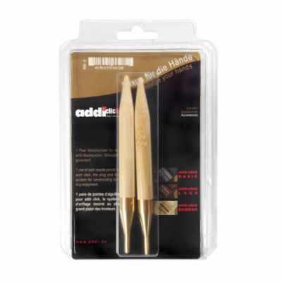 Фото - Инструмент для вязания ADDI 556-7/3.5-000 Дополнительные спицы к addiClick BAMBOO, №3.5 бамбук спицы addi дополнительные к addiclick bamboo 556 7 556 2 диаметр 7 мм дерево