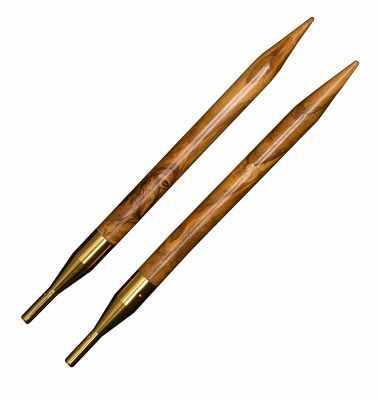 Фото - Инструмент для вязания ADDI 576-7/3.5-000 Дополнительные спицы к addiClick NATURE, №3.5 оливковое дерево спицы addi дополнительные к addiclick bamboo 556 7 556 2 диаметр 7 мм дерево